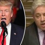 Reino Unido: Presidente de Cámara de los Comunes se opone a visita de Trump (VIDEO)