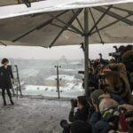 Milla Jovovich presenta en Moscú la última entrega de Resident Evil