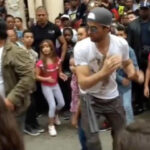 Cuba: Enrique Iglesias grabó video y bailó en las calles con sus fans (VIDEO)