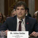 Ashton Kutcher pide al Congreso de EEUU combatir explotación sexual infantil