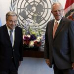 Presidente Kuczynski se reúne con secretario general de la ONU