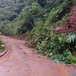 Lluvias causan derrumbes en carretera Tarapoto-Yurimaguas