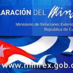 Cuba: Cancillería revela fracaso de montaje de derecha y disidentes