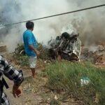 Al menos 8 muertos por triple choque entre camión, moto y furgoneta en Trujillo