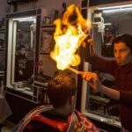 Peluquero palestino sorprende con su estilo para corte de cabello (video)