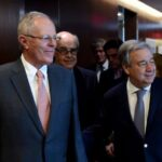 Kuczynski traslada al jefe de la ONU su apoyo al multilateralismo