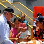 Piura: Kuczynski entregó 70 toneladas de ayuda a damnificados