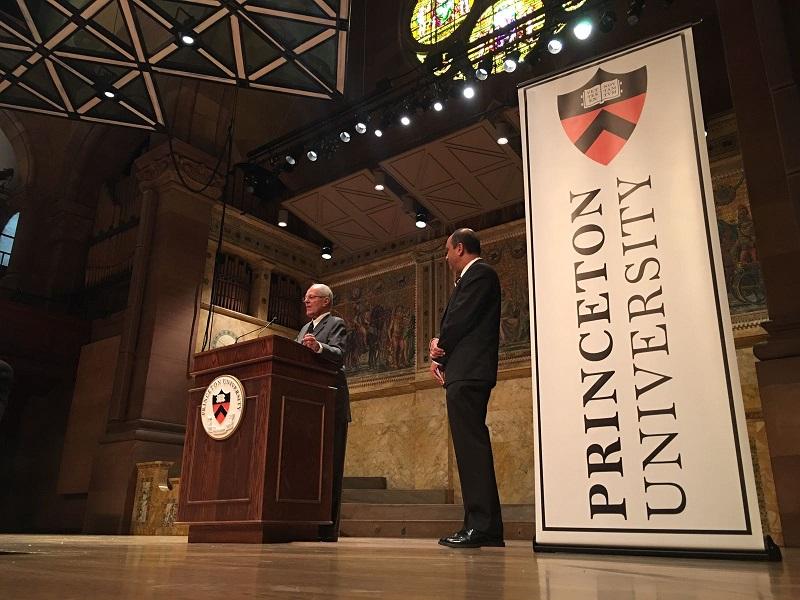 Haremos una revolución social y generaremos crecimiento — Kuczynski en Princeton