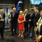 Raúl Castro recibe a delegación de senadores de EEUU de visita en Cuba
