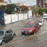 Intensas lluvias activan dos quebradas en distrito de Nepeña