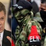 Santos: Liberación de excongresista abre camino al diálogo de paz con ELN