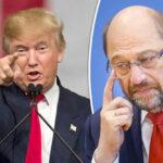 Alemania: Candidato Schulz considera a Trump una amenaza a la democracia