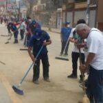 San Juan de Lurigancho: Personal municipal y vecinos participaron en limpieza de calles