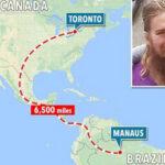 Brasil: Hallan a desaparecido en Canadá hace 5 años caminando sin rumbo en Manaos