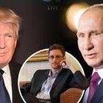 """Rusia baraja devolver a Snowden a EEUU como """"regalo"""" para Trump, según NBC"""