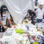 Se enviaron 227 toneladas de ayuda humanitaria a damnificados