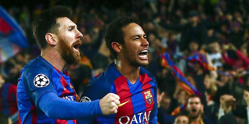 Barcelona en Champions League. FOTO: AP