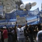 Argentina: Central sindical decideel jueves la fecha de huelga general