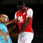 Sporting Cristal cae goleado 3-0 ante Santa Fe por la Copa Libertadores