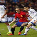 Rusia 2018: España agarra el liderato de su grupo goleando 4-1 a Israel