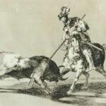 """""""La tauromaquia"""": una de las series de Goya será subastada en Londres"""