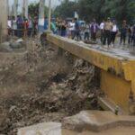 Río Huaycoloro: Tránsito en autopista Ramiro Prialé cerrado por desborde (VIDEO)