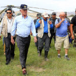 Kuczynski: Se restablecerá fluido eléctrico en Huarmey para bombear agua estancada