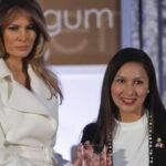 """EEUU: Melania Trump premia a peruana en la gala """"Mujeres Valientes"""""""