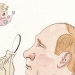 Donald Trump y Vladimir Putin en la portada de The New Yorker