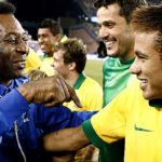 Neymar al ritmo de samba y el jogo bonito iguala récord de Pelé