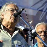 Pérez Esquivel en Malvinas: Estamos en esta tierra que tanto nos duele y tanto queremos