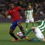 Liga Santander: Real Betis gana 1-0 e implica en el descenso al Osasuna