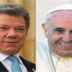 Colombia: Santos dice 'el Papa nos visitará con mensaje de unidad y reconciliación'