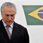 Brasil: Temer 1er presidente en ejercicio investigado por delito penal