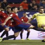 Liga Santander: Villarreal se pasea y golea 4-1 a un endeble Osasuna