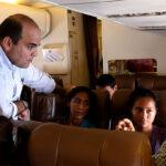 Avión presidencial sirvió de puente aéreo entre Tumbes y Lima