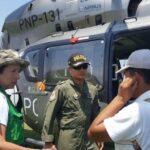 Puente aéreo lleva ayuda humanitaria a zonas altas de Yauyos y Huarochirí (VIDEOS)