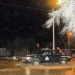 Chimbote: Río Colorado se desborda en Nepeña y afecta a 50 viviendas