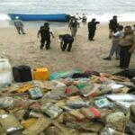 Punta Hermosa: PNP halló bote con 300 paquetes de droga (VIDEO)