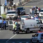 EEUU: Mujer embistió a una patrulla policial cerca del Capitolio (VIDEO)