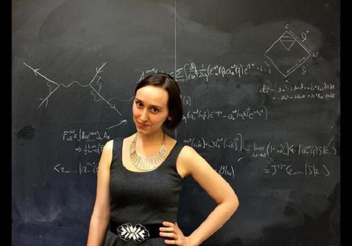 La nueva Einstein tiene 23 años y se llama Sabrina González — EEUU