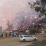 Israel: Incendio en fábrica de fuegos artificiales deja dos muertos (VIDEO)