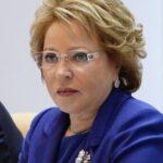 Presidenta Senado ruso pide modificar artículo que limita libertad de reunión