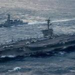 Portaaviones nuclear de EEUU encabeza maniobras conjuntas enCorea del Sur (VIDEO)