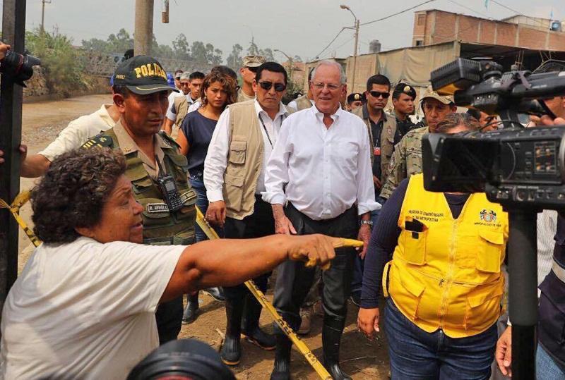 PPK: Mañana decidiremos si Lima es declarada en emergencia
