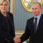 Rusia: Putin recibió a la ultraderechista Marine Le Pen en el Kremlin