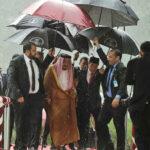 Indonesia: Rey de Arabia Saudita y sucomitiva llegan en 27 aviones