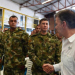 "Santos envía tropas a frontera con Venezuela para ""garantizar soberanía"""