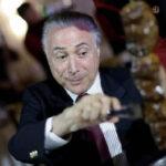 """Temer admite que es """"vergüenza"""" la red brasileña de carne descompuesta"""