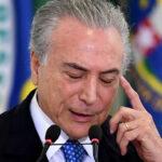 Brasil: Temer ordena congelamiento de US$13.500 millones del gasto público